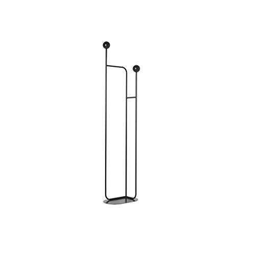 LZL Perchero Colgador de Piso de Metal nórdico diseñador Creativo Colgador Decorativo Moderno Minimalista Sala de Estar Dormitorio Ropa de Cama Abrigo Estante de Almacenamiento