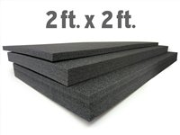 5S Lean Tool Box Foam Organizers (1 Piece) 2 FT x 2 FT (1' Thick)