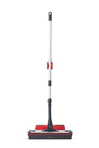 Polti Moppy - Kit de 2 paños y limpiador de suelos con vapor sin cables para todo tipo de suelos y superficies verticales lavables, color blanco