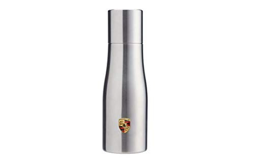 Genuine Porsche Double Walled Stainless Thermal Travel To-Go 1Liter Tumbler Growler