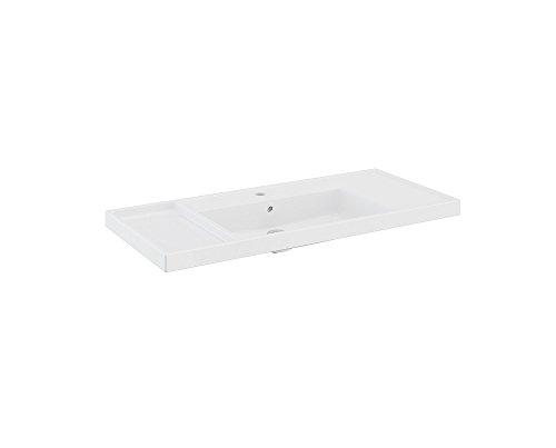 Bath+ by Cosmic B-Box wastafel van kunsthars 100 cm Briljant Wit