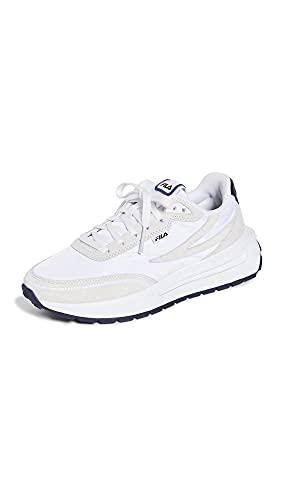 Fila Women's Renno Sneakers White/Navy/Red Sz: 7.5 5RM01550