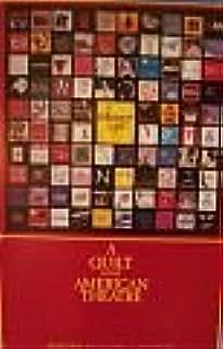 broadway poster quilt