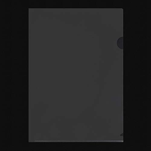 プラスクリアファイルクリアホルダーEA4100枚0.18mm透明(乳白)クリアーFL-270HO88-138