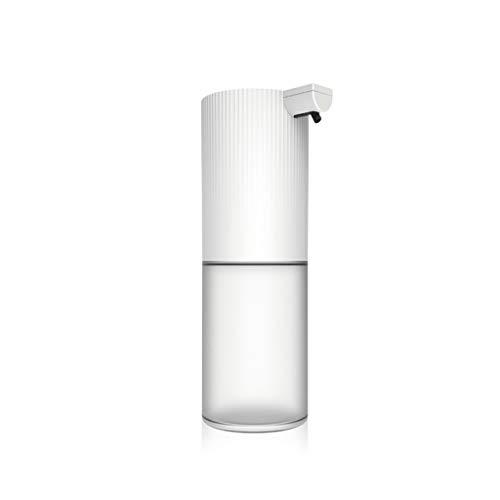 HMEI Dispensador de loción Automático dispensador de jabón, jabón Blanco de la Bomba sin Contacto automático de jabón Botella Fácil de Usar Sensor de Movimiento infrarrojo 12,1 oz