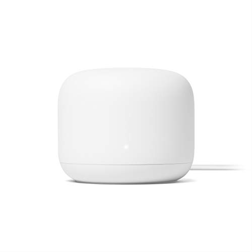Google Nest WiFi Router (2nd Generation) – 4x4 AC2200 Mesh Wi-Fi Router with 2200 Sq Ft Coverage