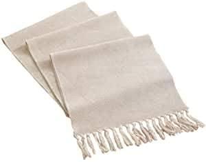 LOMOHOO Camino de mesa de 240 x 33 cm, lino de algodón...