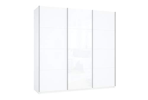 Prime 3030 Schwebetürenschrank mit kompletter Glasfront 180x190 cm