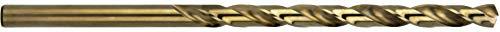 Presto 041113.3 HSCo Langer Bohrer, DIN 340, P2 Bronze-Finish, Länge 69 mm, Durchmesser 3,30 mm, Länge 106 mm, 5 Stück