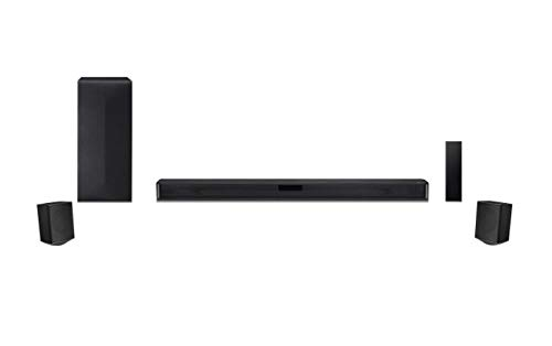 LG 4.1 Channel Soundbar with Surround Sound Speakers - SNC4R