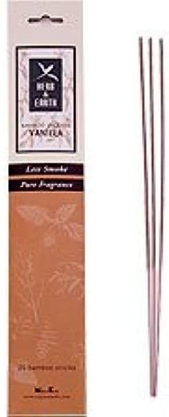 香草香草和地球从月 Nippon Kodo 沉香棒包