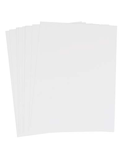 Enkaustik-Malkarten, A5, 10 Stk, weiß