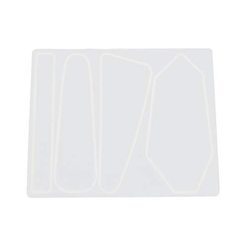 UPKOCH Epoxidharz Formen DIY Haarnadel Gussform Haarspange Form Silikonformen für Schmuck Schlüsselbund Lesezeichen Anhänger Herstellung (Muster 1)