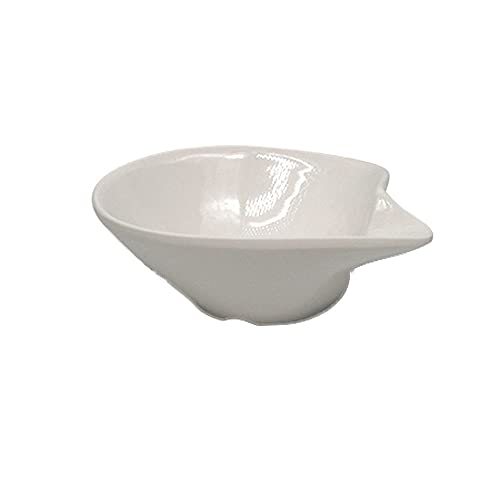 Hanpiyigcp Dinner Plates, Cold dishes, flavor dishes, small plate, hotel household kitchen tableware (Color : E)