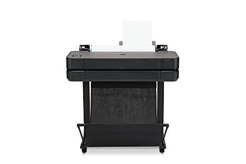 HP DesignJet T630 Large Format Plotter Printer 24in up to A1, Mobile Printing, Wi-Fi, Gigabit...