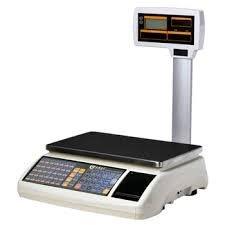 balanza bascula 3 vendedores nueva con impresora de ticket y 10000 plu