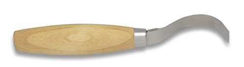 Morakniv Wood Carving 163 mes met houten handvat, 6,5 cm, 17306