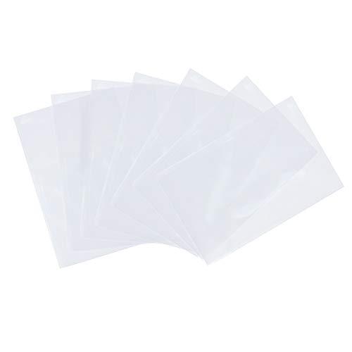 Pandahall Elite 600 Bolsas de celofán de 15 x 10 cm, Transparente, Bolsas para Joyas Galletas Pastelería, Rectángulare, Aprox. 600 Unidades/Bolsa