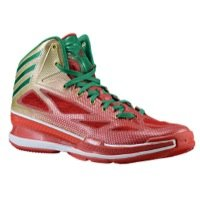 adidas Men Adizero Crazy Light Basketball Size 8.5 Red/Green