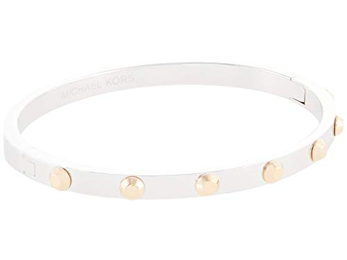 Michael Kors Sterling Silver Astor Bangle Two-Tone Plated MD