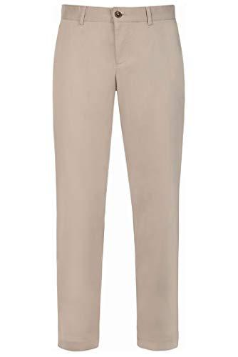 ALBERTO Regular Slim Fit Hose Material-Mix beige Größe W34 L32