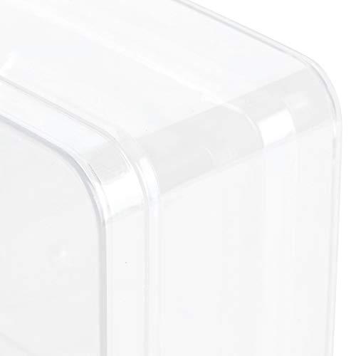 Caja de dulces, caja de bocadillos con tapa, caja de dulces transparente y ecológica, color transparente duradero de alta transparencia para regalos de dulces de azúcar para amigos