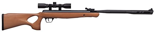 Crosman CVH22RDNS-WX .22-Caliber Valiant Wood Nitro Piston Elite Powered Break Barrel Air Rifle With 4 x 32mm Scope