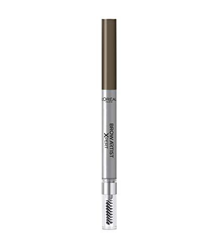 L'Oréal Paris Augenbrauenstift mit herausdrehbarer Mine und Bürste für definierte, volle und natürliche Augenbrauen, Brow Artist Xpert, Nr. 105 - Brunette, 1 x 1 g