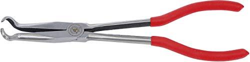 Kraftmann 413 | Alicate para bujías | con punta circular | 280 mm