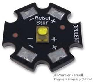 OPULENT REBEL-STAR-ES-NW200 High Brightness LED, Chip on Board, LUXEON Rebel ES Series, Neutral White, 4100 K, 230 lm, 700 mA (1 piece)
