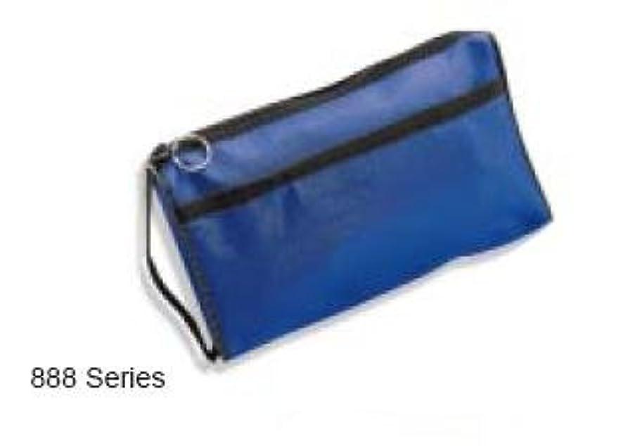 ADC Deluxe Nylon Zipper Case, Royal Blue 888RB