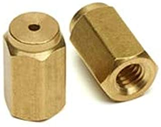 Agilent Column nut for Thermo, Brass, Used with Agilent ferrules 8002-0220, 8002-0221, 8002-0222, 2/pk