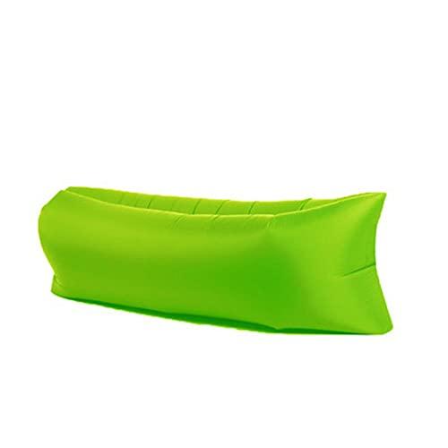 WDL Aufblasbare Liege Aufblasbares Sofa Outdoor Tragbar Wasserdicht & Anti-Air Leaking Lounger Air Sofa Hängemattenstuhl für Pool, Strand, Partys, Reisen, Camping, Picknick C-240cm*70cm