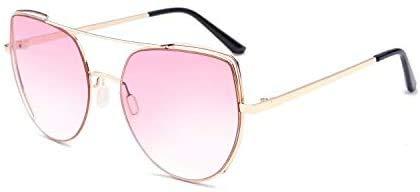 Squash bril Cat Eye Zonnebril Dames zonnebril Fashion Personality Zonnebrillen Outdoor bril (Color : A)
