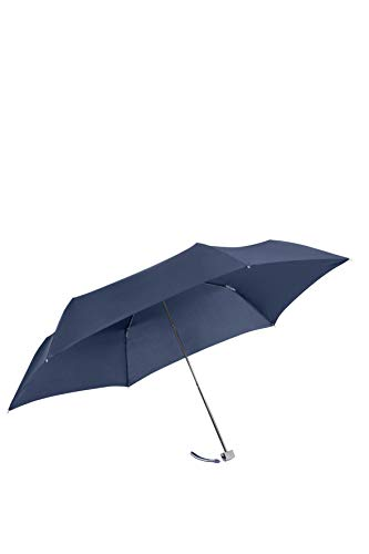 SAMSONITE Rain Pro 3 Section Manual Ultra Mini Flat Regenschirm 22,5 cm, Blue
