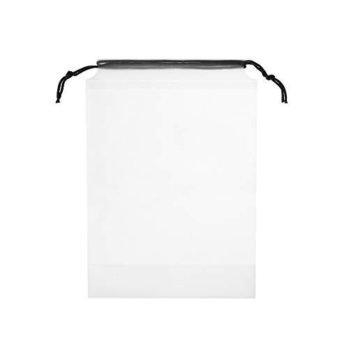 maylace transparante tassen, 3 Stks Camping Opslag Transparant Trekkoord Handtassen Toilettas Reizen Organizer Make-up Tassen