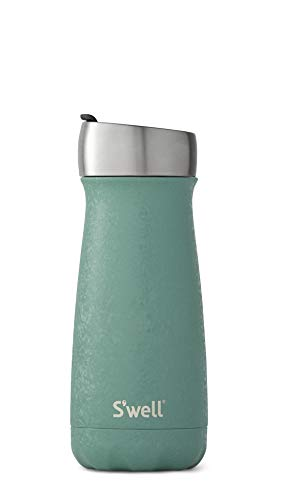 S#039well Stainless Steel Commuter Bottle  16 Fl Oz  Montana Blue  TripleLayered VacuumInsulated Containers Keeps Drinks Cold for 24 Hours and Hot for 6  with No Condensation  BPA Free Water Bottl