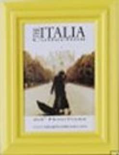 ITALIA Picture Frame 5x7 Yellow (6-pack)