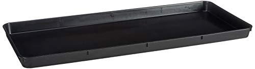 Stewart 2320005 ALTUNA 2320005-Growbag Tray Negro, Noir, 39x5x7,86 cm