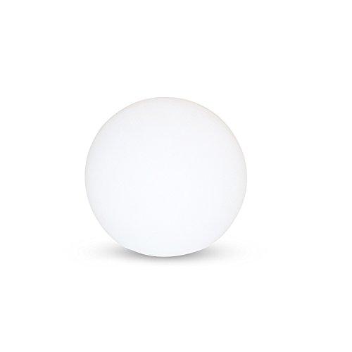 Lichtbol met accu en afstandsbediening.