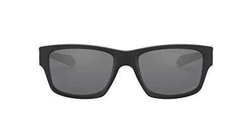 Oakley Jupiter Squared, Gafas de Sol Unisex, Negro (Black/Azul Cielo), 56 mm