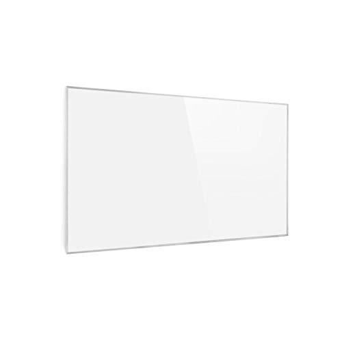 Klarstein Wonderwall - Smart Infrarotheizung, 50x90cm, 450W, Wochentimer, IP24, weiß