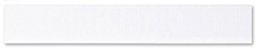 Boxershorts, elastische reparatieveer, zwart-wit, verschillende maten 40mm-1m Wit