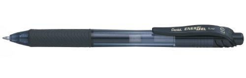 Pentel - Bolígrafo Energel retráctil con punta de bola.