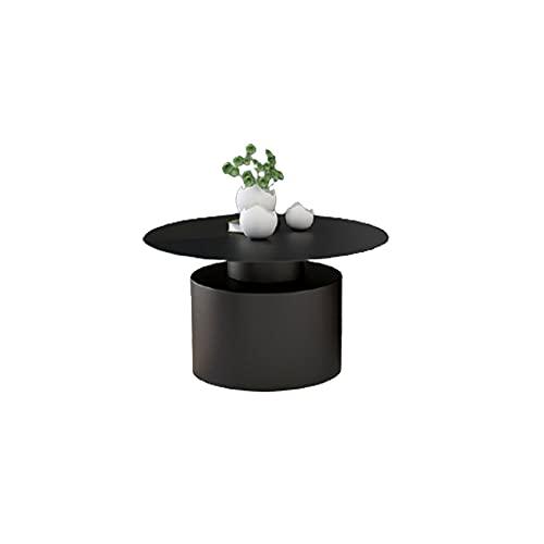 tavolino da salotto ferro battuto Combinazione Minimalista di tavolino Moderno tavolino in Ferro battuto Tavolino da Salotto Rotondo Semplice di Lusso Nordico Chiaro
