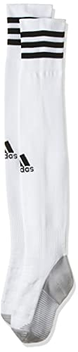 adidas ADI SOCK 18 Socks, Unisex adulto, White/Black, 4042