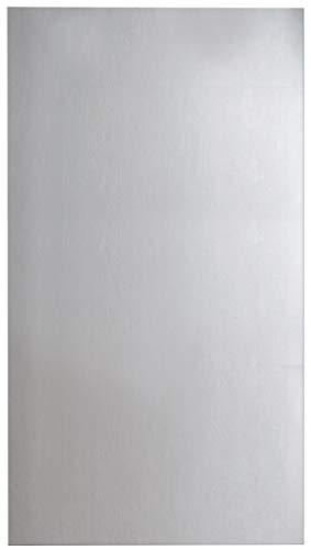 FACKELMANN Spiegel/Wandspiegelelement mit Befestigung/Maße (B x H x T): ca. 50 x 100 x 2 cm/hochwertiger, moderner Badspiegel/hoch und quer verwendbarer Badezimmerspiegel/Breite 50 cm