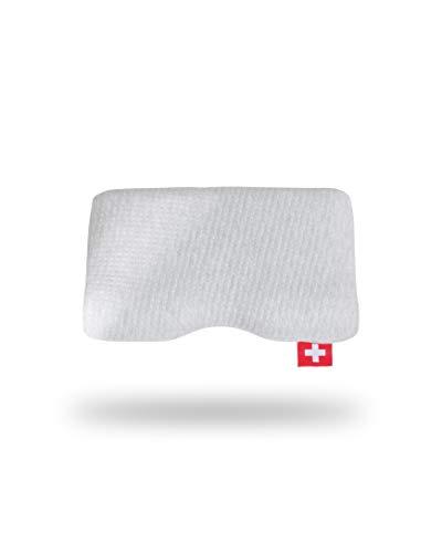 Seven Sundays Kissenbezug   Bezug Seitenschläfer Kissen   Ohne Faltenbildung mit Reißverschluss   Erholsamer Schlaf - Orthopädisch Ideal   52x32x12cm
