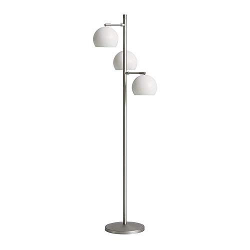 GWXSST Led Lámpara de pie Moderna Minimalista lámpara de pie de la Sala Dormitorio Lámpara de pie (Color : White)