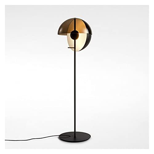 Standleuchten Moderne Stehleuchte, einfacher Wohnkultur Stehende Lampe Schlafzimmerlampe Ständer Metall stehende Lampen für Wohnzimmerbüro, Glas Lampenschirm Bodenleuchte (Birne nicht inbegriffen) ste